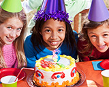 birthday parties in realis gymnastics academy