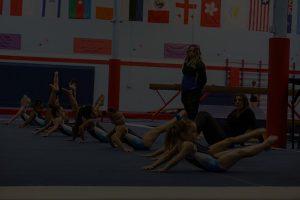 Redlands Gymnastics Background Dark